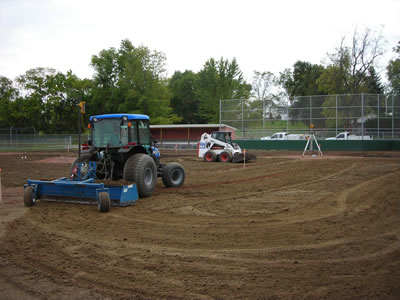 Mechanicsburg HS Baseball Field - BEFORE