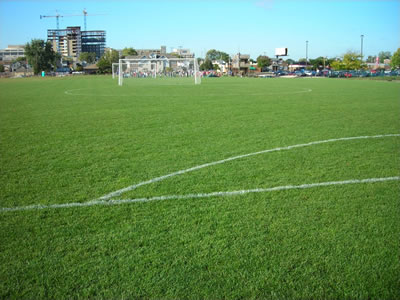 University of Dayton Practice Soccer Field - after