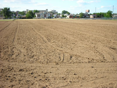 University of Dayton Practice Soccer Field - before